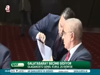 Galatasaray se�ime gidiyor