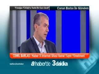 ''Erdo�an T�S�AD'a tarihi bir ders verdi'' -  Cemil Barlas