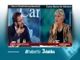 ''Gezi ve 17 Aral�k'ta sermaye siyasalla�t�'' - Fahrettin Altun