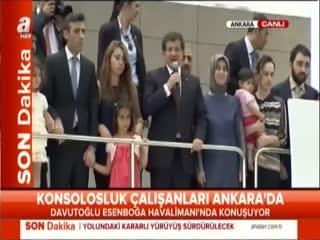 Ahmet Davuto�lu : Bizim i�in bir ki�i 75 milyon ki�idir