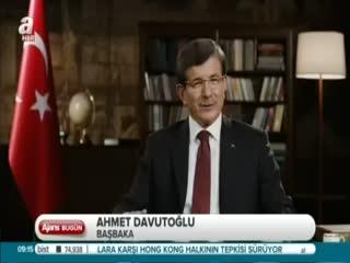 Davuto�lu: Yaralara �are �retece�iz