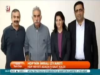 HDP heyeti imral�'ya gitti
