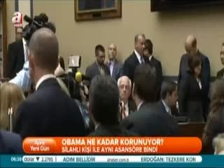Beyaz Saray'da g�venlik a����