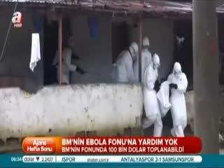 BM Ebola'da s�n�fta kald�