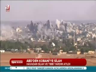 ABD'den Kobani'ye silah