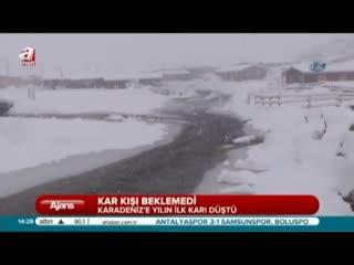 Karadeniz'e kar d��t�