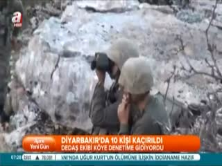 Diyarbak�r'da 10 ki�i ka��r�ld�