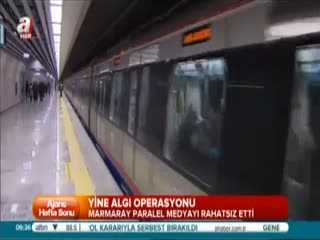 Marmaray i�in yalan zaman�