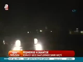 Pe�merge Kobani'ye ge�ti