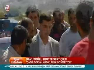 Ba�bakan'dan HDP'ye sert ele�tiri
