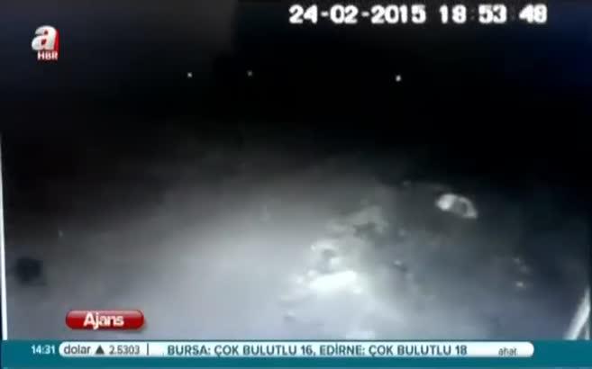 Malatya'da uçakların düşme anı
