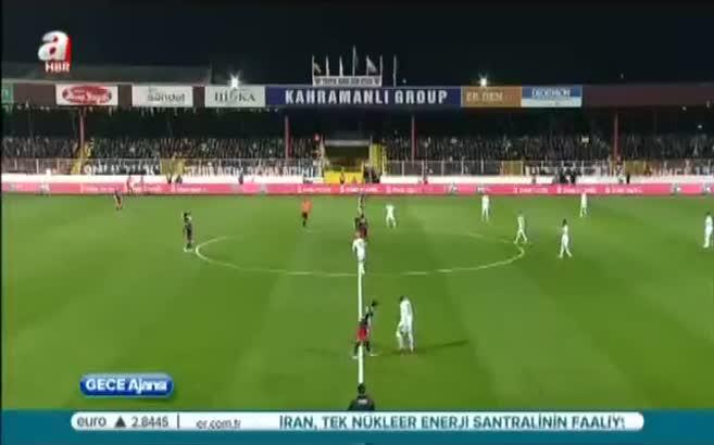 Mersin İdman Yurdu 1 - 2 Fenerbahçe (Özet)