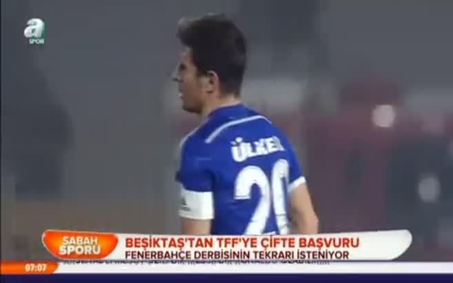 Beşiktaş'tan TFF'ye çifte başvuru