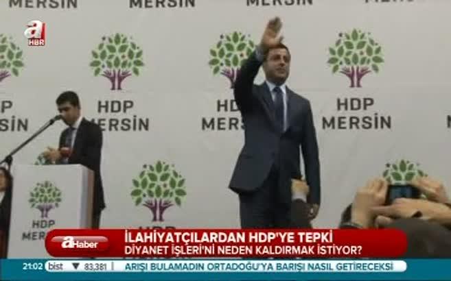 HDP'ye bir tepki ilahiyatçılardan!