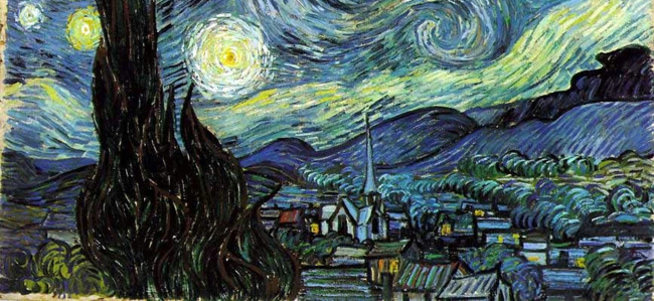 10 dakika da Van Gogh resimleri
