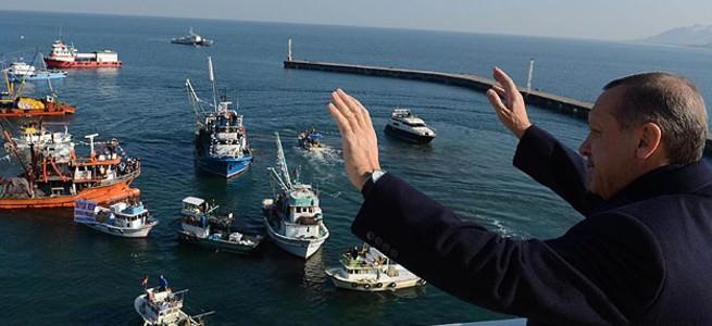 Başbakan'a balıkçı selamı