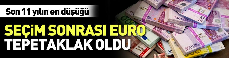 Euro fiyatlar� tepetaklak oldu