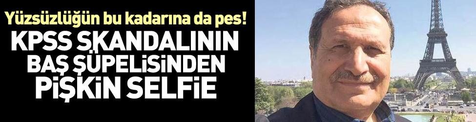 Gülen'in rektöründen pi�kin self�e
