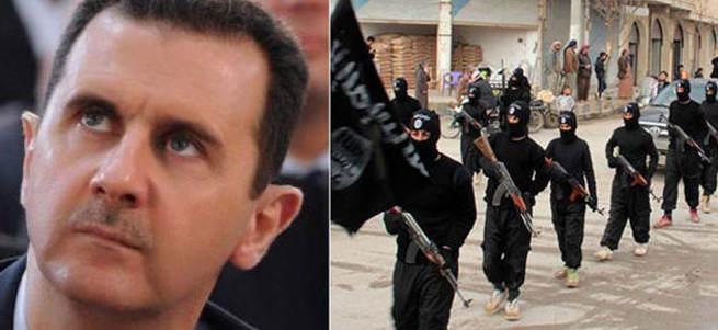 Esed ile ilgili bomba DEAŞ iddiası!