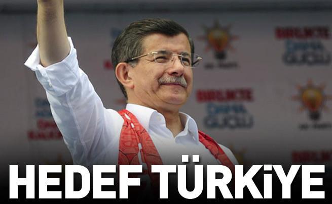 Başbakan: Hedef sadece bir parti değil Türkiyedir