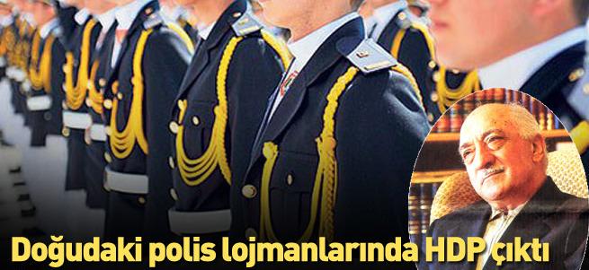 Polis lojmanlarında oylar HDP'ye!