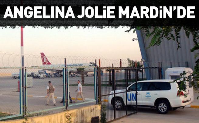 Ünlü yıldız Angelina Jolie Mardin'de