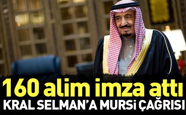 Suudi alimlerden Kral Selman'a Mursi çağrısı