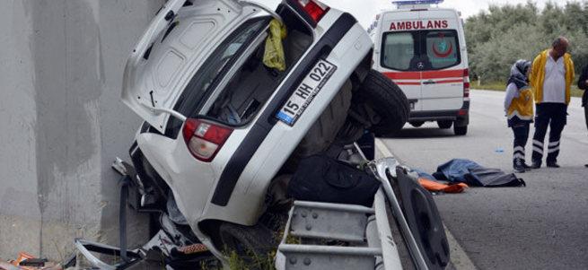 Çorum'da katliam gibi kaza: 4 ölü