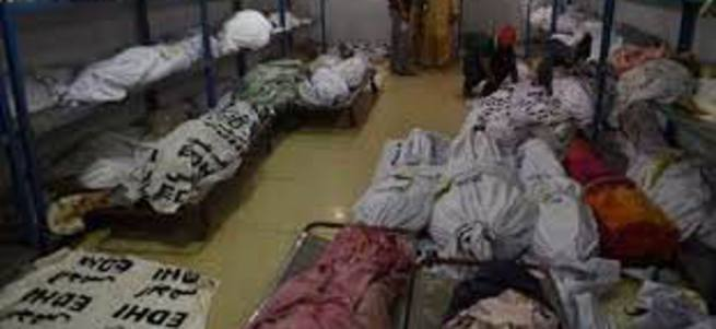 Pakistan'da sıcak katliam: 450 ölü