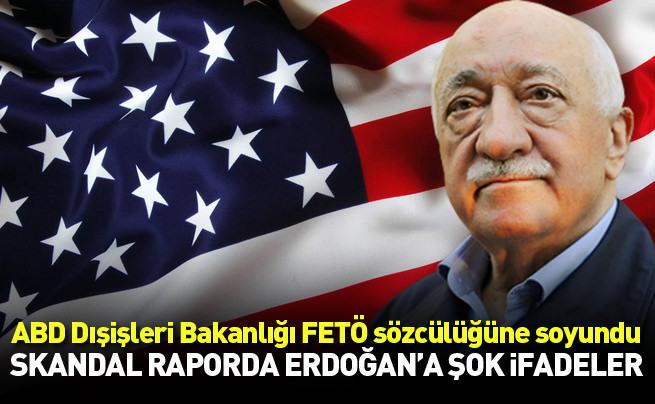 ABD Dışişleri Bakanlığı FETÖ'nün sözcülüğüne soyundu