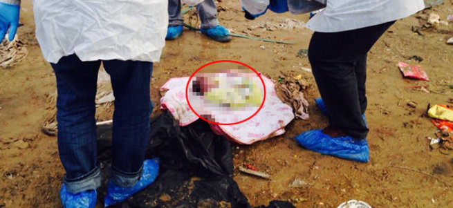 Çöplükte cesedi bulunan bebeğin annesi yakalandı!