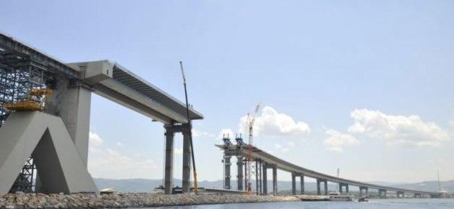 Gebze-İzmir Otoyolu projesinde rekor operasyon