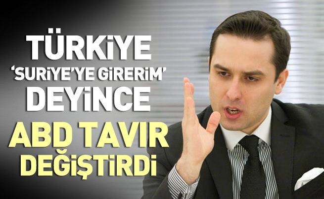 Ufuk Ulutaş: Türkiye 'Suriye'ye girerim' deyince ABD tavır değiştirdi
