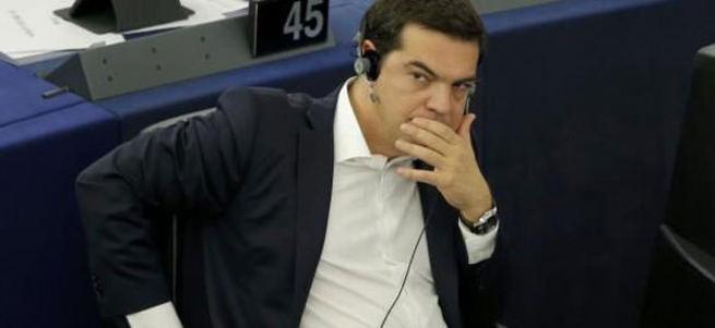 Avrupa Parlamentosu'nda Yunan Başbakan Çipras azarlandı