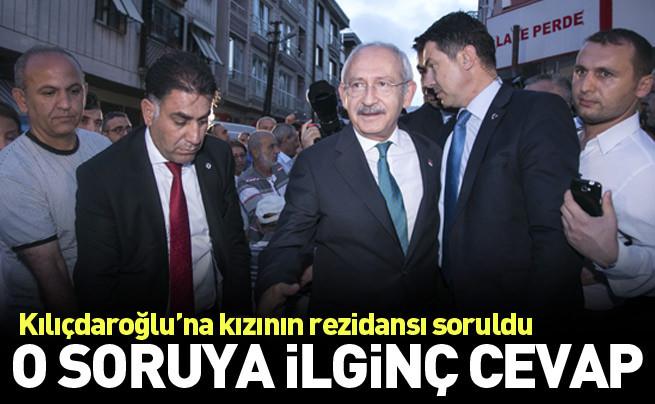 Kılıçdaroğlu'ndan rezidans sorusuna ilginç cevap