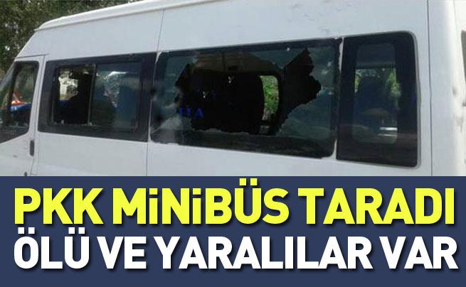 PKK minibüs taradı