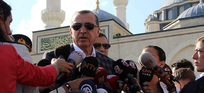 Erdoğan'dan bayram namazı çıkışı flaş açıklamalar