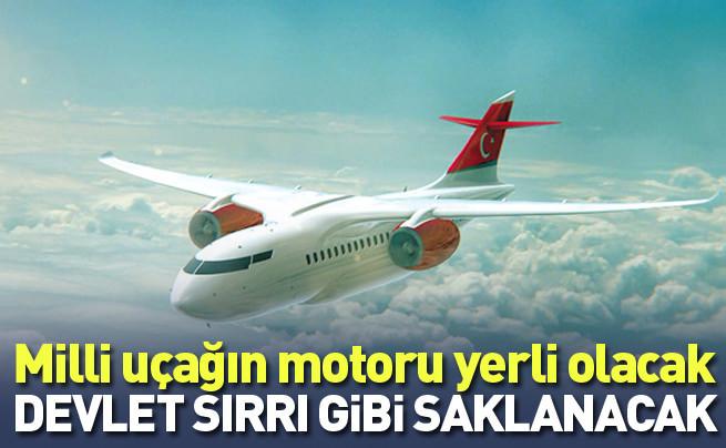 Milli yolcu uçağın motoru da yerli olacak