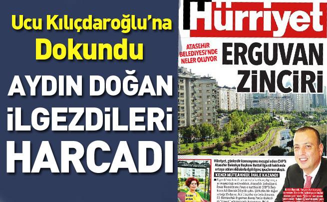 Aydın Doğan CHP'li İlgezdi'yi geç gördü