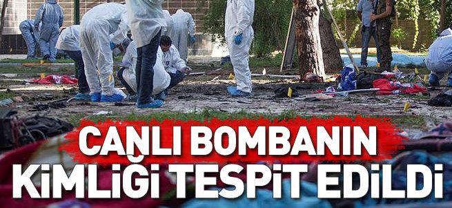 Canlı bombanın kimliği belirlendi