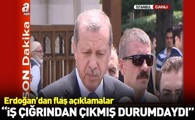 Cumhurbaşkanı Erdoğan: Bu iş artık çığırından çıktı