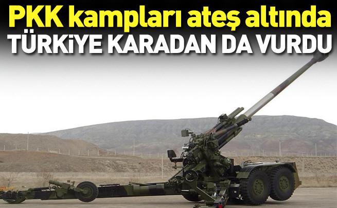 Türkiye PKK'yı cehennem topuyla vurdu