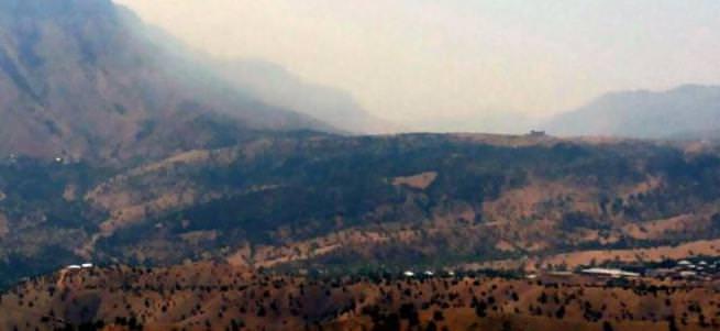 Şemdinli'de PKK'ya top atışı yapıldı