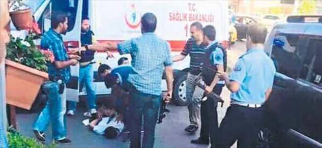 'Yılan soktu' dedi ambulansı kaçırdı