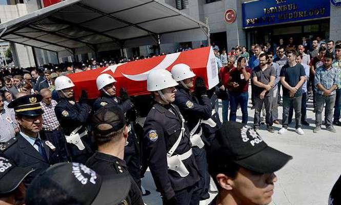 Şehit polis Sivri son yolculuğuna uğurlanıyor