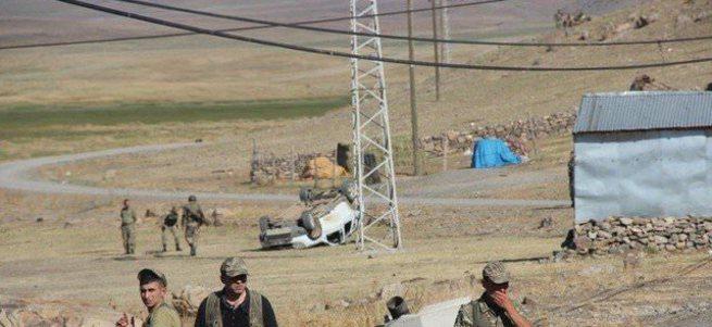 PKK'lılar karakola saldırı sonrası kaza yaptı: 3 ölü