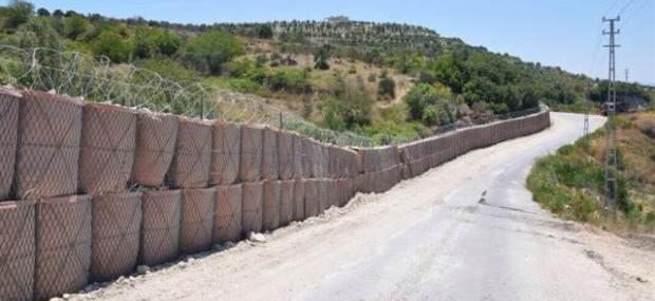 Suriye sınırına duvar örülüyor
