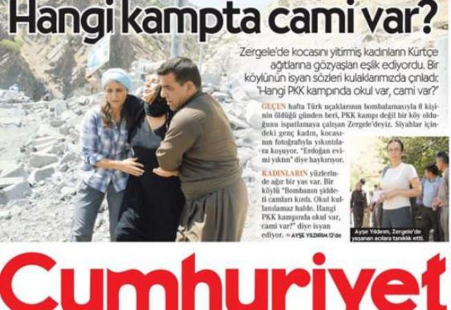 Cumhuriyet, savunayım derken PKK'ya ateist dedi