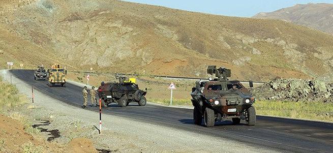 Kars'ta çatışma: Bir astsubay şehit, bir asker yaralı