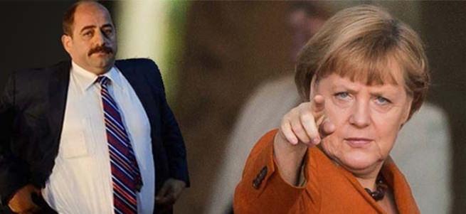 Zekeriya Öz Merkel'in hizmetinde